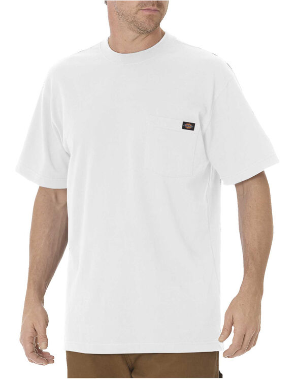 Short Sleeve Pocket T-Shirt - White (WH)