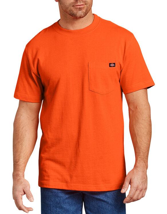 Short Sleeve Heavyweight T-Shirt - Bright Orange (BOD)