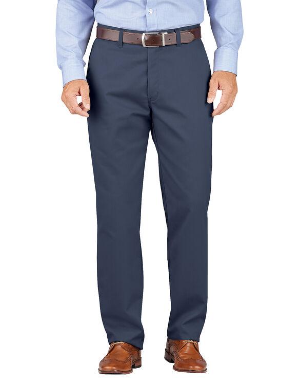 Pantalon kaki Dickies décontracté à jambe fuselée et ceinture confortable - Marine foncé rincé (RDN)