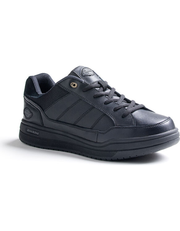 Men's Slip Resisting Athletic Skate Work Shoes - Black (FBK) (FBK)