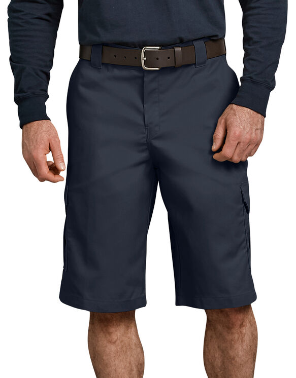 "FLEX 13"" Relaxed Fit Cargo Shorts - Dark Navy (DN)"