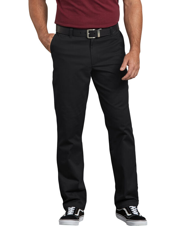 Dickies X-Series Regular Fit Washed Chino Pants - Noir rincé (RBK)