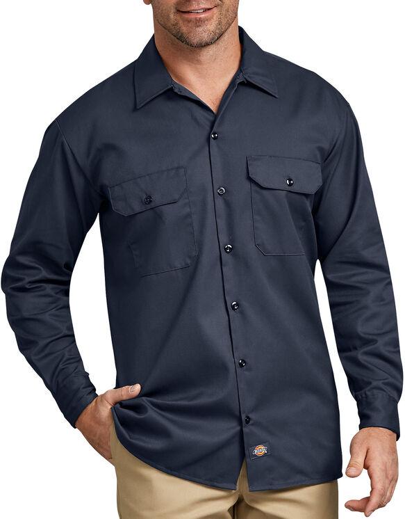 Long Sleeve Work Shirt - Dark Navy (DN)