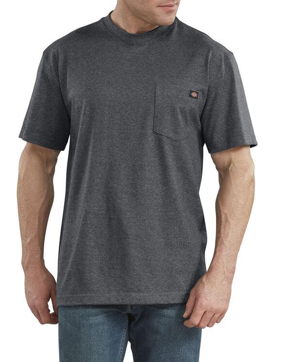 Short Sleeve Heavyweight Heathered T-Shirt - Charcoal Gray Heather (CGH)
