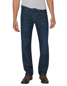 Dickies X-Series Regular Fit Straight Leg 5-Pocket Denim Jeans - Tinted Indigo Blue (HTI)