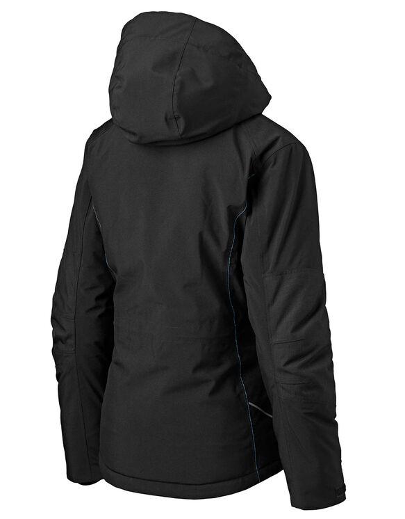 Manteau de travail performant, isotherme et imperméable pour femmes - Black (BK)