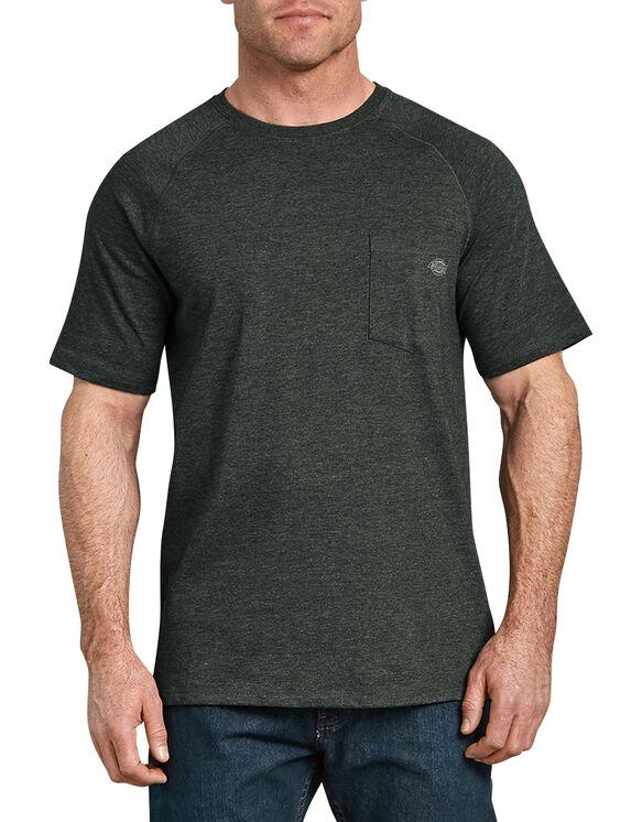 Cooling Temp-iQ® Performance Short Sleeve T-Shirt - Hunter Green Heather (HNH)