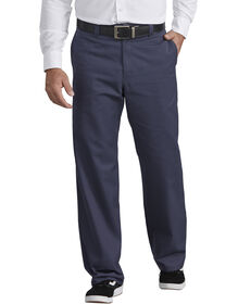 Industrial Flat Front Pant - Navy Blue (NV)