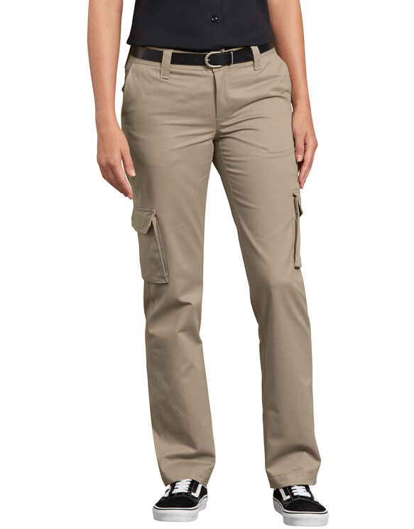 Women's Stretch Cargo Pants - Desert Khaki (DS)