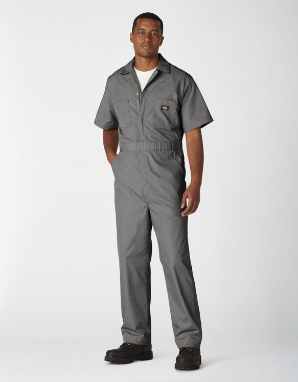Short Sleeve Coveralls - Gray (GY)