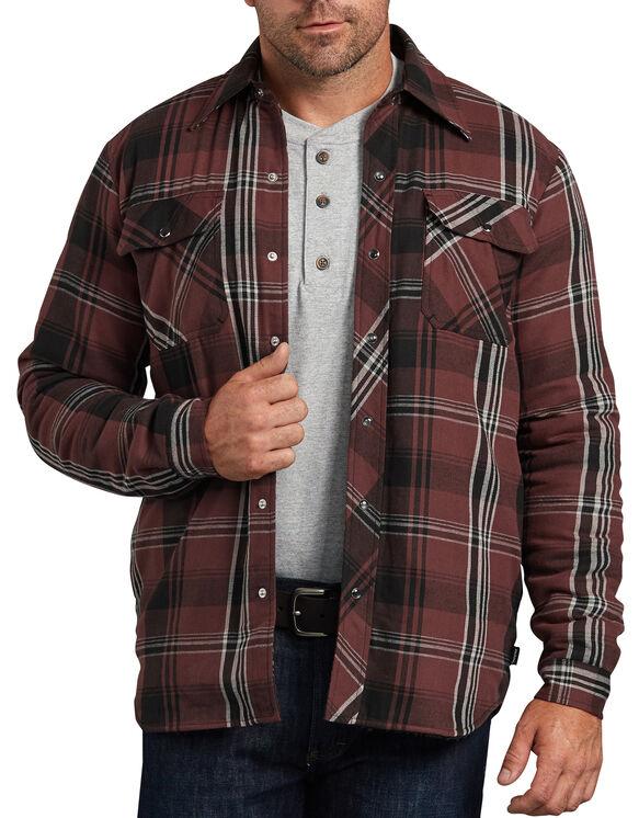 Modern Fit X-Series Snap-Front Shirt Jacket - Black Plaid (PVL)