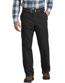 Regular Fit ToughMax Ripstop Cargo Pants - Black (RBK)