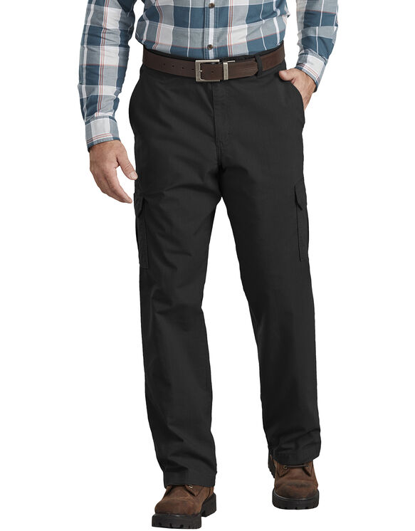 Regular Fit ToughMax Ripstop Cargo Pants - Rinsed Black (RBK)