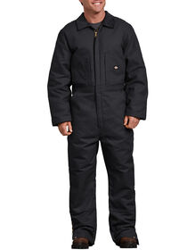 Duck Insulated Coverall - Black (BK)
