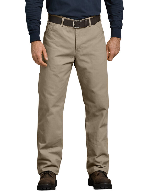 Relaxed Fit Straight Leg Carpenter Duck Jeans - Desert Khaki (RDS)