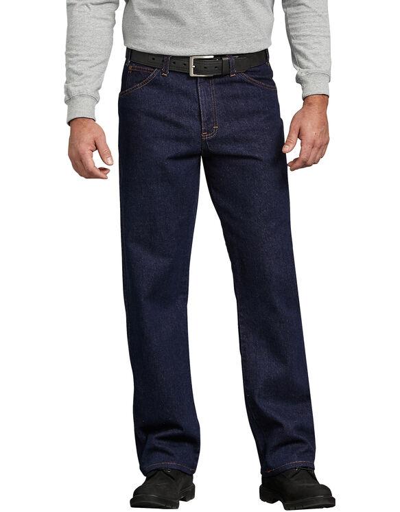 Jeans à 5 poches - Bleu indigo rincé (RNB)