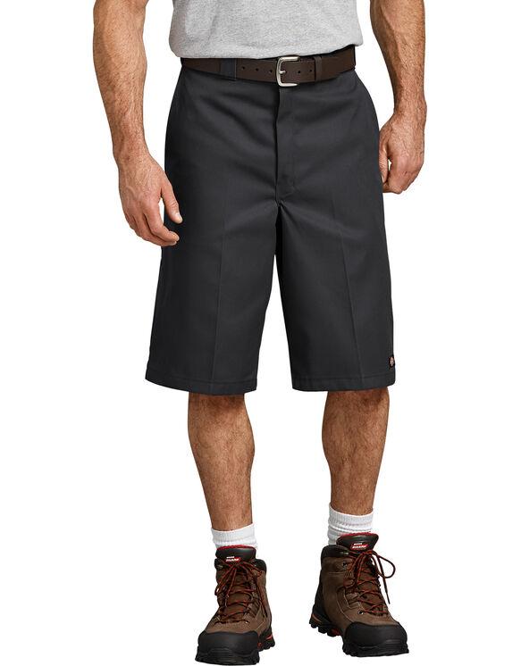 """13"""" Loose Fit Multi-Use Pocket Work Short - Black (BK)"""