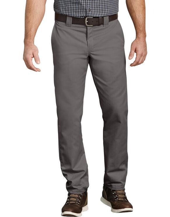 Pantalon de travail FLEX à poche multi-usage, coupe ajustée et jambe fuselée - Gravel Gray (VG)