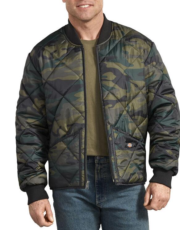 Veste camouflage piquée en losange - Hunter Green Camo (HRC)