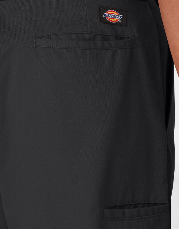 Cooling Temp-iQ™ Active Waist Twill Shorts - Black (BK)