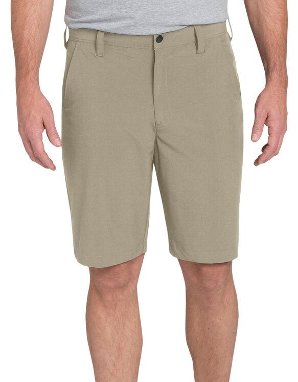 """Regular Fit 10"""" Flex Hybrid Short - Desert Khaki (DS)"""
