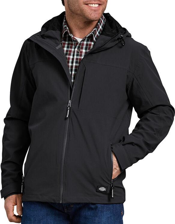Performance Waterproof Breathable Jacket with Hood - Black (BK)