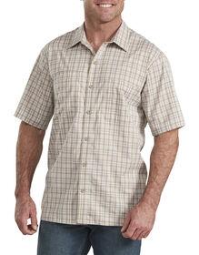 Temp-iQ™ Performance Cooling Short Sleeve Shirt - Blue Khaki Plaid (DSU)