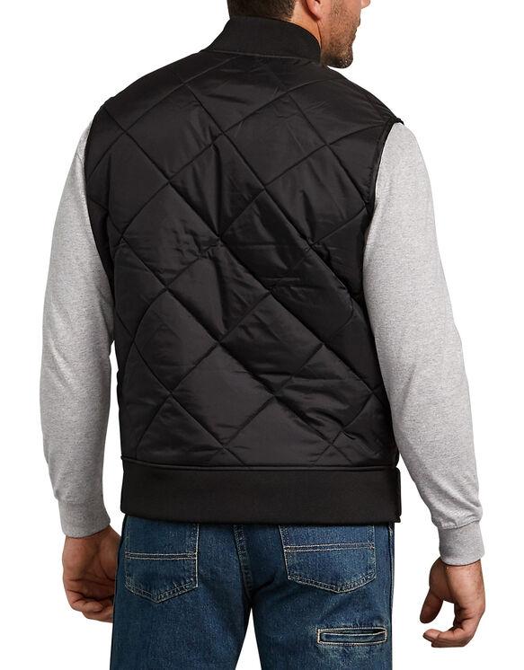 Quilted Nylon Vest - Black (BK)