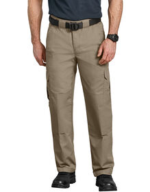 Tactical Relaxed Fit Straight Leg Lightweight Ripstop Pant - Desert Khaki (DS)