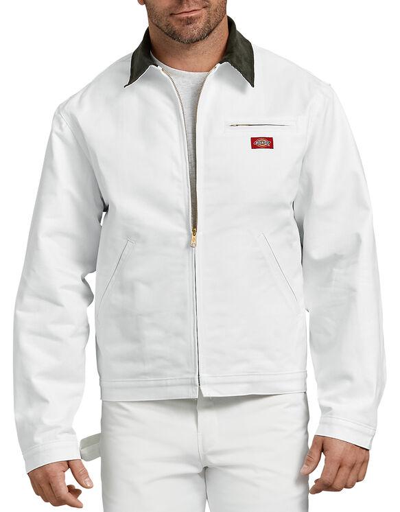 Veste doublée de flanelle - Blanc (WH)