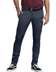Pantalon de travail à genoux doublés coupe étroite droite - Dark Navy (DN)