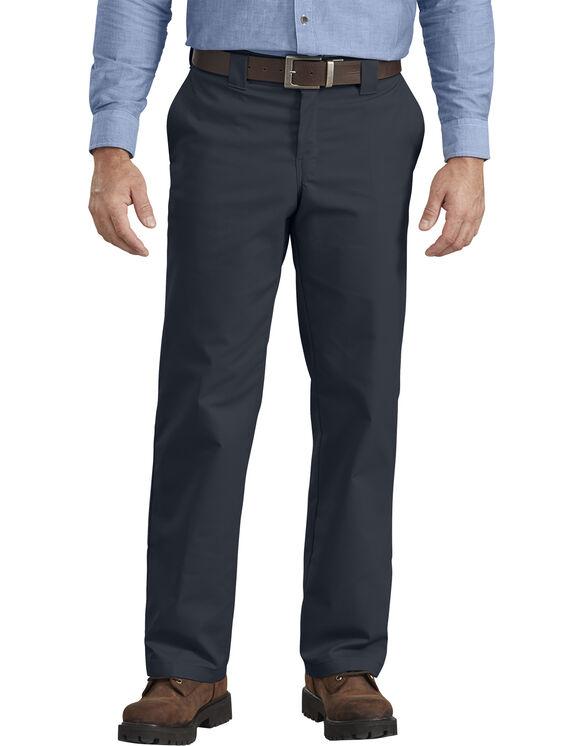Pantalon de travail en tissu croisé - jambe droite - Dark Navy (DN)