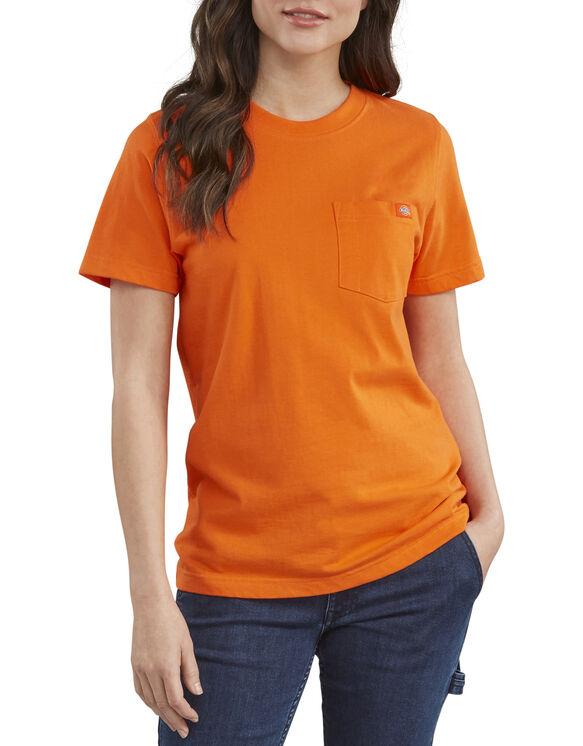 Women's Short Sleeve Heavyweight T-Shirt - Orange (OR)