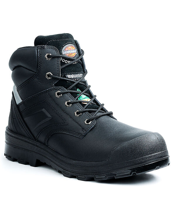 "6"" Overtime Work Boot - Black (BK)"
