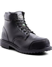 "6"" Walker Safety Boot - Black (BLK)"