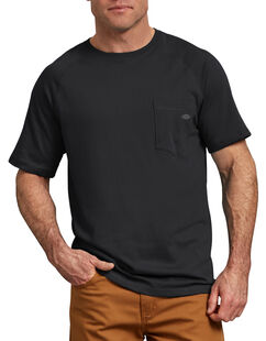 Cooling Temp-iQ® Performance Short Sleeve T-Shirt - Black (BK)