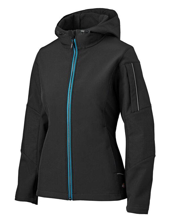 Women's Performance Workwear Softshell Jacket - Black (BK)