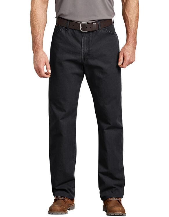 Genuine Dickies Dungaree Jeans - Stonewashed Black (SBK)