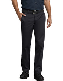 Slim Fit Straight Leg Work Pants - Black (BK)