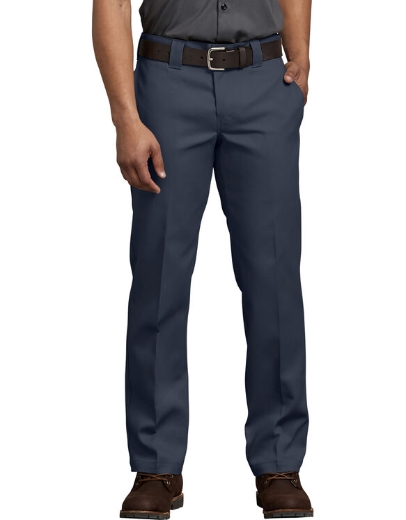 FLEX Slim Fit Straight Leg Work Pants - Dark Navy (DN)