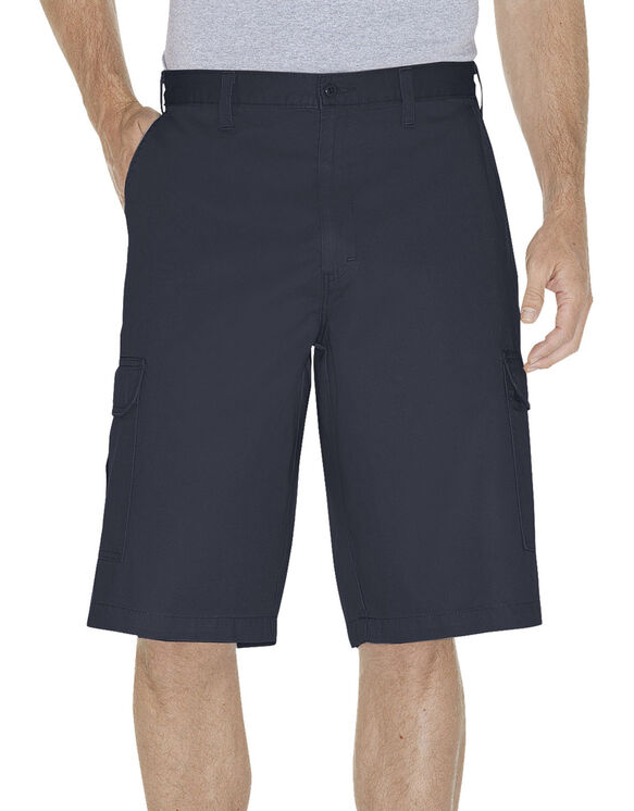 "13"" Loose Fit Cargo Shorts - Dark Navy Blue (RDN)"