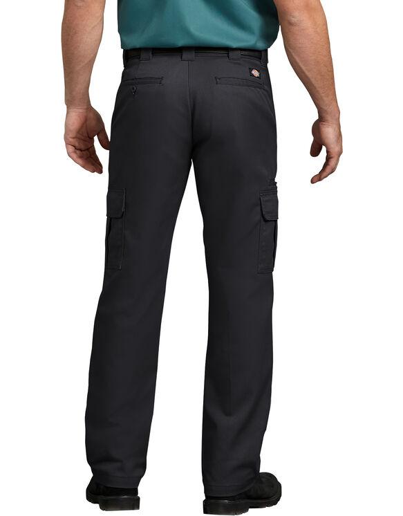 Pantalon cargo en tissu croisé - Black (BK)