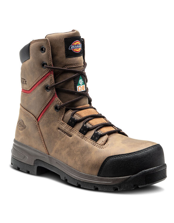 "8"" Tractus Boot - Brown (DW)"
