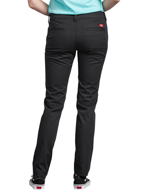 Pantalon en sergé extensible pour femmes - Rinsed Black (RBK)