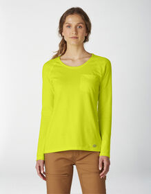 Women's Long Sleeve Temp-iQ® Performance T-Shirt - Bright Yellow (BWD)