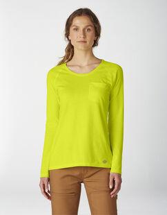 T-shirt à manches longues Temp-iQ® Performance pour femmes - Bright Yellow (BWD)