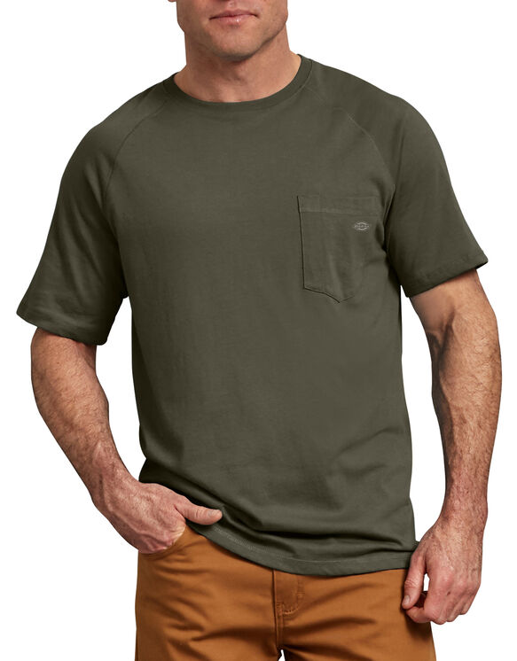 T-shirt de Performance Refroidissant Temp-iQ™ - Moss Green (MS)