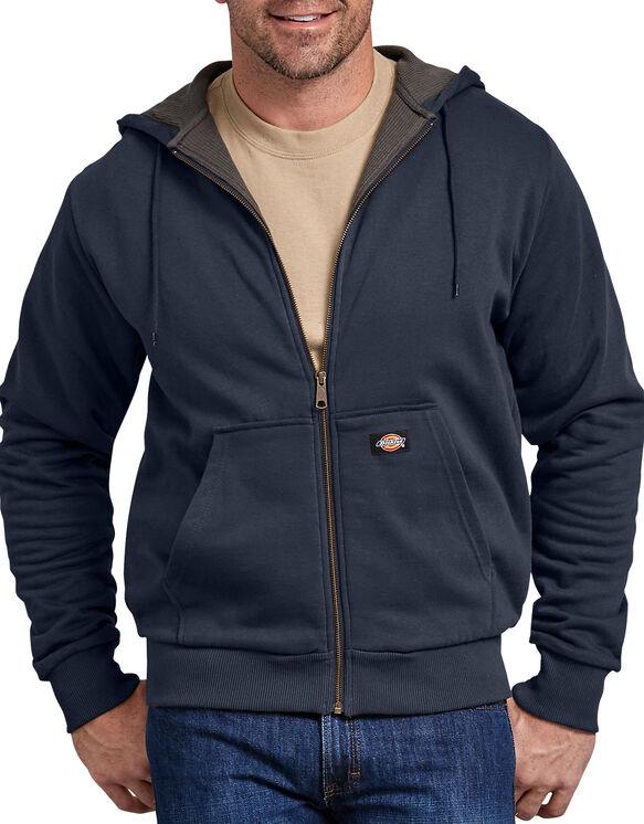 Thermal Lined Fleece Hoodie - Dark Navy (DN)