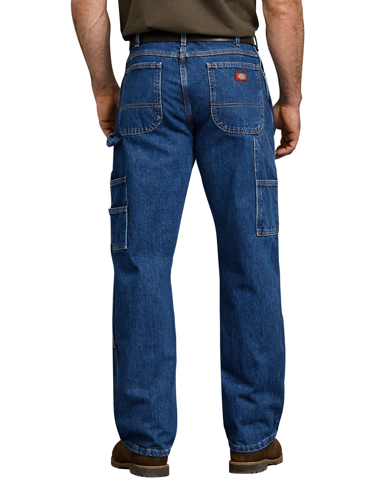 Neue Dickies Relaxed Fit Stonewashed Carpenter Indigo Jeans