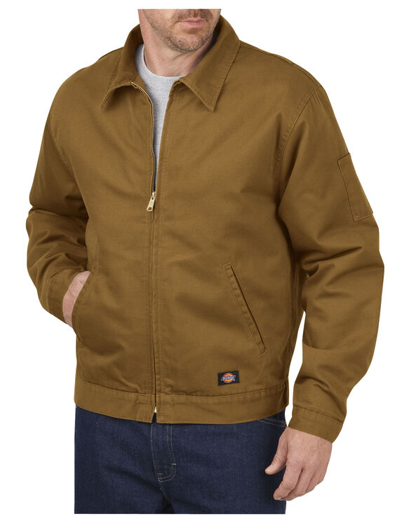 Canvas Jacket - RINSED BROWN DUCK (RBD)